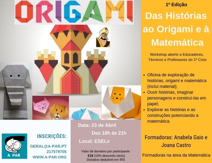 16 - Das Histórias ao Origami e a Matemática